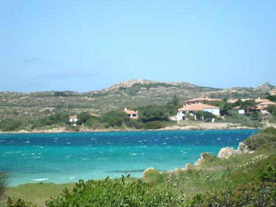B&B Cala Peticchia: Vue de la maison depuis l'Isola Giardinelli