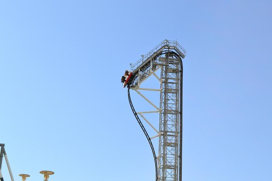 Fuji-Q Highland: Takabisha's inverted drop