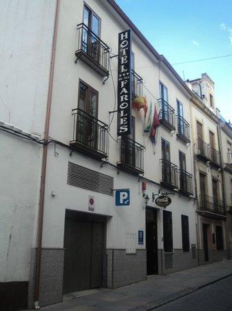 Hotel de los Faroles: Fachada