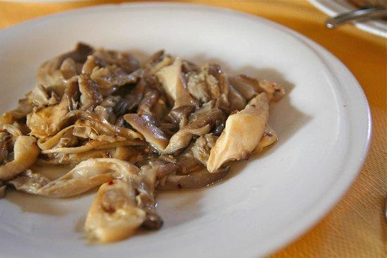 Vecchia Aidone: Trifolato di funghi di Ferla