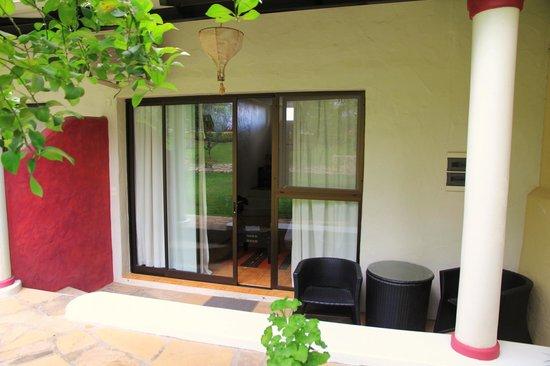 Bo Hotel de Encanto & Spa: Notre terrasse