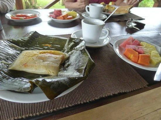 La Anita Rainforest Ranch: special breakfast
