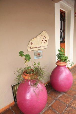 Bo Hotel de Encanto & Spa: Entrée de l'hôtel