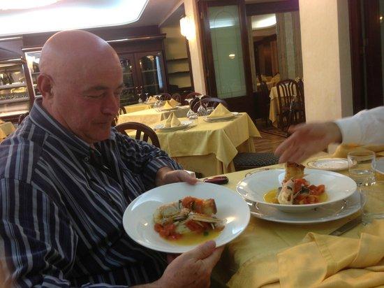 Grand Hotel Europa: secondo piatto