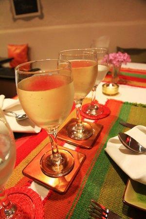 Bo Hotel de Encanto & Spa: Table du diner