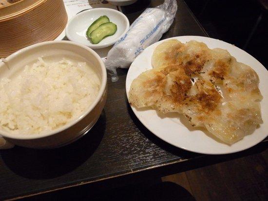 Nikujiru Suigyoza Gyopao: 餃子もおいしい