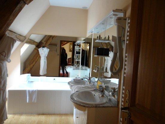 Hotel Chateau de la Berchere : Bathroom