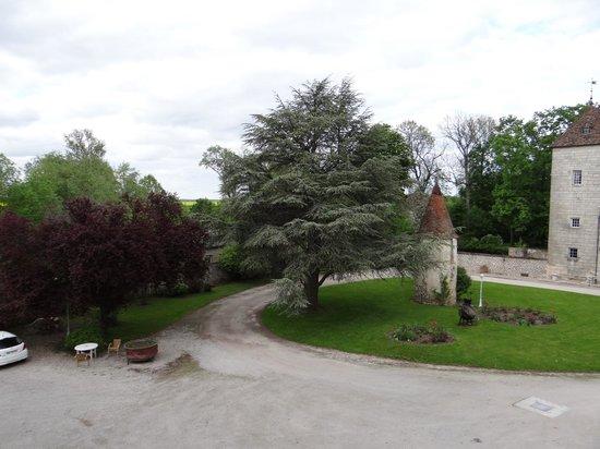 Hotel Chateau de la Berchere : View from room