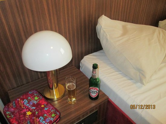 Derag Livinghotel am Deutschen Museum: My free beer and bed