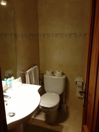 Aparthotel Flacalco Suites: Flacalco Park Badezimmer