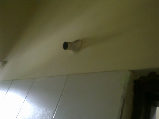 Priya Residency Hotel: no bulb in toilet