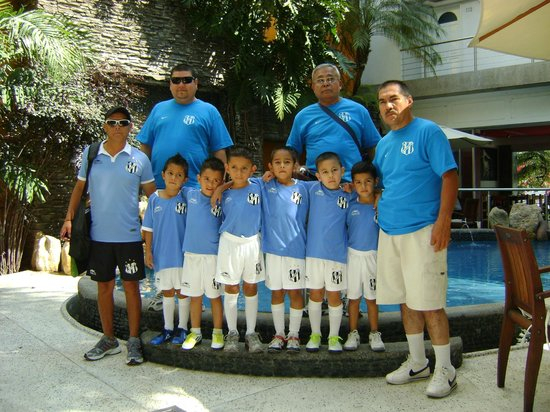 Hotel Rio Malecon Puerto Vallarta: EQUIPO DE FUTBOL REAL ESTANCIA CATEGORIA 2006-2007 (NUEVO LEON)