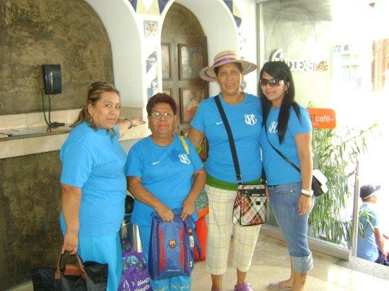 Hotel Rio Malecon Puerto Vallarta: MAMAS DE LOS NIÑOS DEL REAL ESTANCIA EQUIPO PARTICIPANTE DEL TORNEO DE FUTBOL COPA VALLARTA 2013