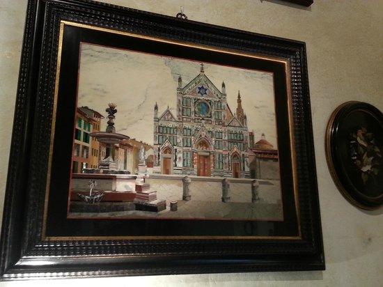 I Mosaici Di Lastrucci: Santa Croce in mosaic