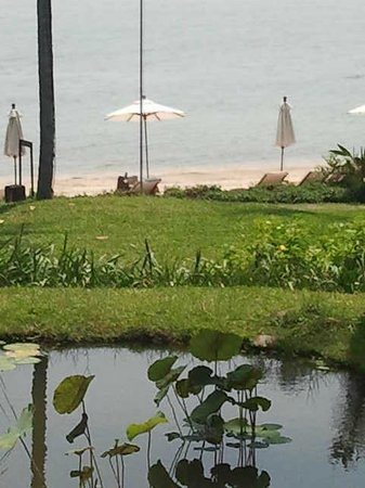 Kamalaya Koh Samui: view at beach