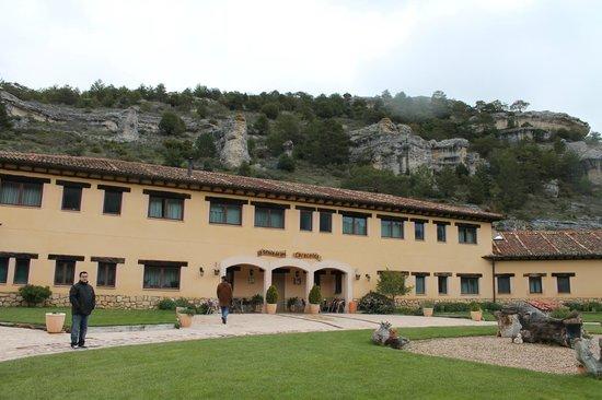 La Senda de los Caracoles Spa: fachada del hotel