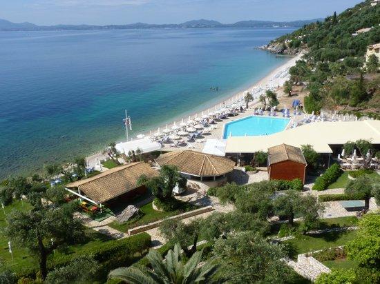 Sensimar Nissaki Beach by Atlantica: View from terrace