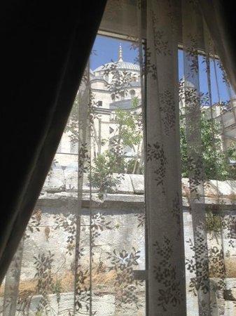 Hotel Djem: вид из окна