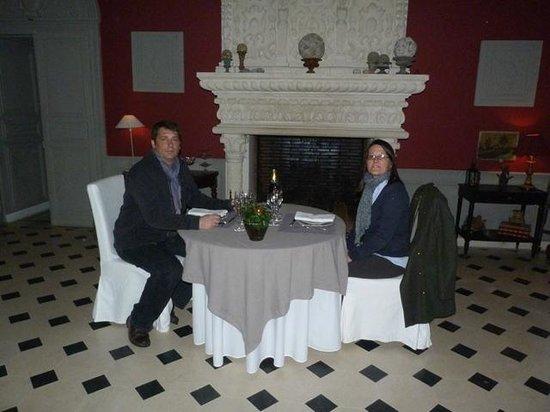 Chateau d'Auvillers: salle de reception/repas
