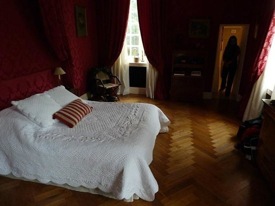 """Chateau d'Auvillers: chambre """"CARDINAL"""""""