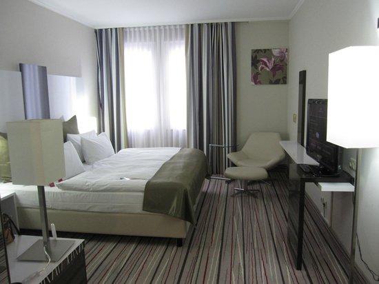 Mercure Hotel Wiesbaden City: ツインルーム