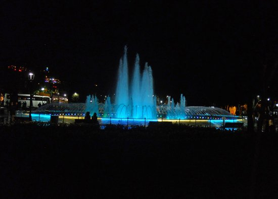 Dilhayat Kalfa Hotel: Blue Mosque square at night