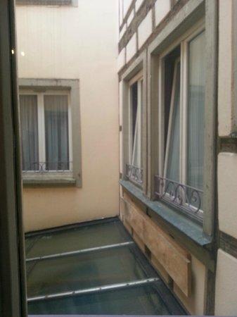 Logis Hôtel Au Cerf d'Or: View