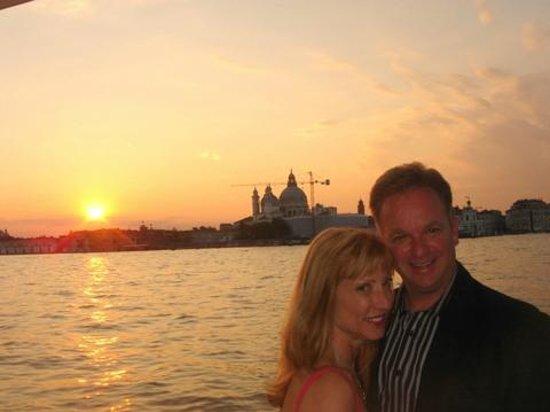 Cip's Club Belmond Hotel Cipriani : romantic sunset over Venice