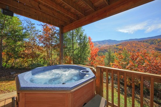 Elk Springs Resort: Private Hot Tub
