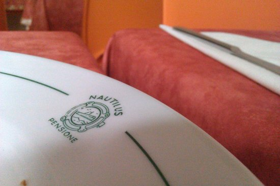 Nautilus Hotel: тарелка