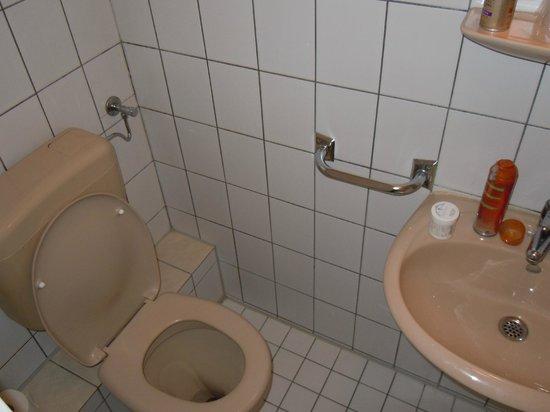 Litty's Hotel: sehr kleines Bad