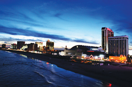 New Jersey: Atlantic City's famous boardwalk