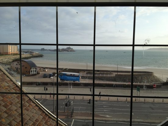 Grand Jersey Hotel & Spa: The view