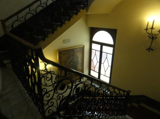 Sina Brufani: Even walking up and down is pleasant - why take the elevator??