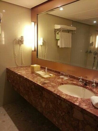 Prince (Marco Polo Hotels): Bathroom - shower only, no bathtube