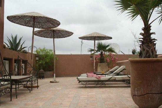 Riad Nabila: Terrazza relax