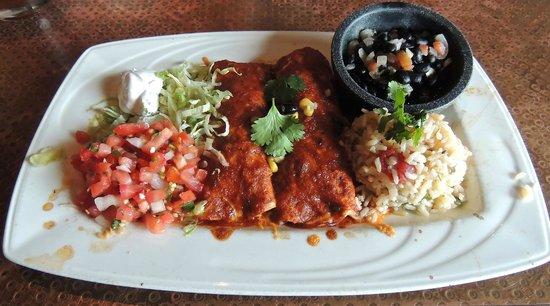 Sopapillas: Enchilada Plate