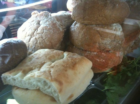 Playfair Cafe : The breads are freshly baked.
