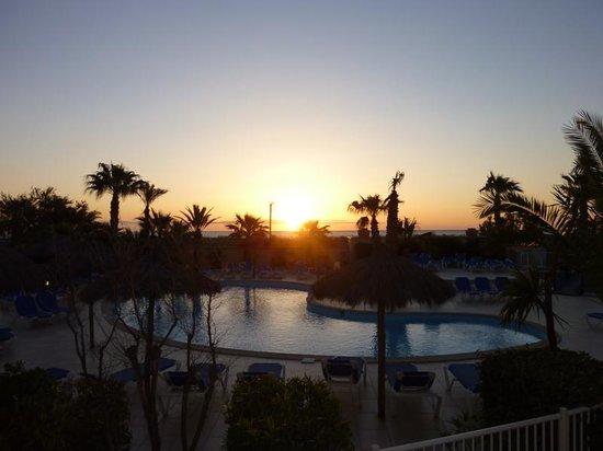 La Lagune Beach Resort and Spa : Lever de soleil sur la Méditérannée