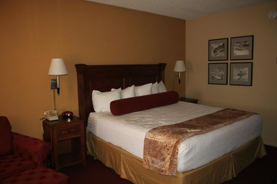 Best Western Plus King's Inn & Suites: Kingsize bed