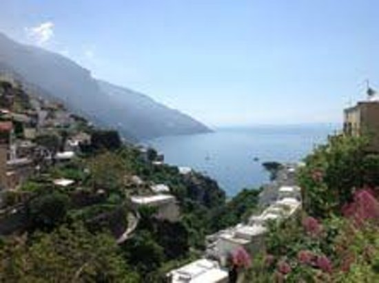 Venus Inn B&B Positano: View from B&B
