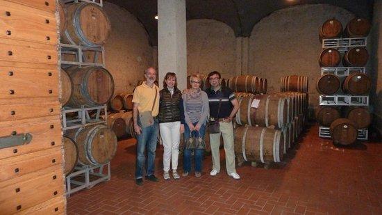 Tenuta Valdipiatta: ...and inside!