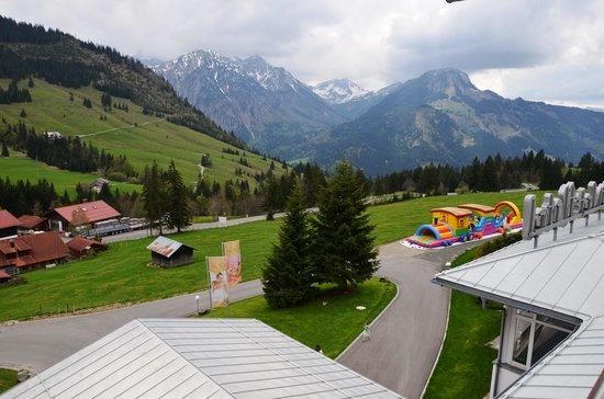 Kinderhotel Oberjoch: Aussicht vom Balkon