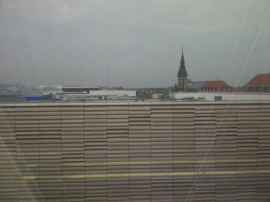 Leipzig Marriott Hotel : View from room 747