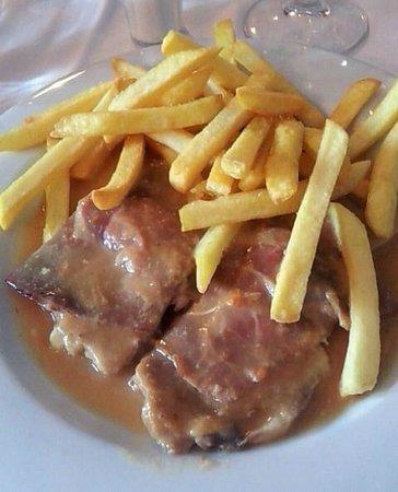 Restaurante El Figon de Pablo: Solomillo con jamón