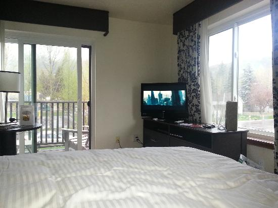 Hotel Aspen : Photo of our room