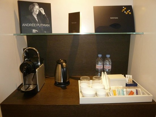Sofitel Paris Arc de Triomphe: tea & coffee