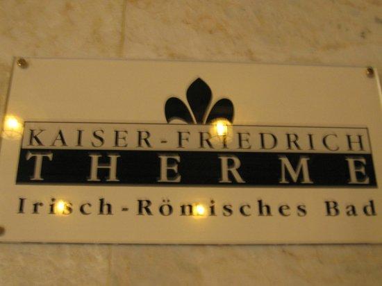 Kaiser Friedrich Therme: カイザーフリードリッヒテルメ