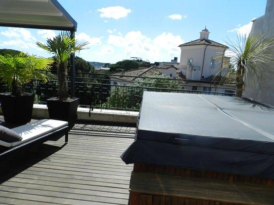 Design Hotel Il Berg Luxury Hotel Di Roma : Terrasse foto di berg luxury hotel roma tripadvisor