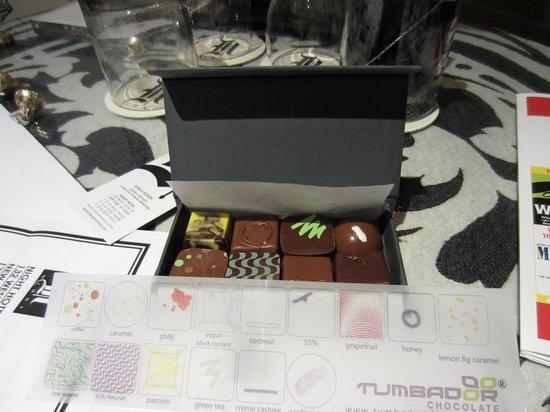 Night Theater District: cioccolatini
